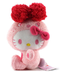 furyu hello kitty colorful bunny plush