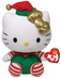 beanie babies hello kitty green christmas