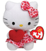 beanie babies hello kitty heart dress