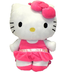 hello kitty plush pink glitter skirt