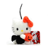 hello kitty halloween plush strap holding