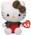 beanie babies hello kitty christmas outfit