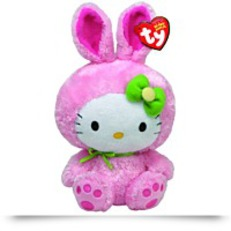 Beanie Babies Hello Kit Pink Bunny Suit