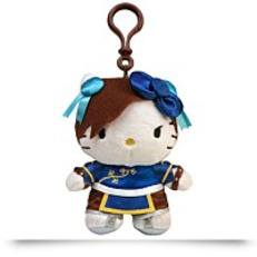 Hello Kitty Chun Li Clip On Coin Plush