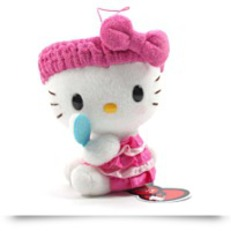 Hello Kitty Fresh Bath Time Plush Strap