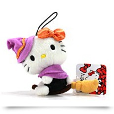 Hello Kitty Halloween 3 5 Plush Strap