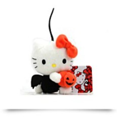 Hello Kitty Halloween Plush Strap 3