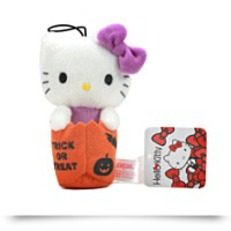 Hello Kitty Halloween Plush Strap 5