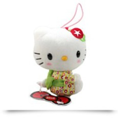 Buy Now Hello Kitty Kimono Plush Strap