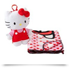 Save Plush Backpack With Throw Set