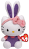 beanie babies hello kitty purple ears