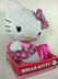 hello kitty plush push stands high