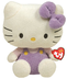 beanie hello kitty lavendar overalls -hello