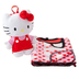 plush hello kitty backpack throw