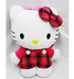 hello kitty plush backpack- plaid quality