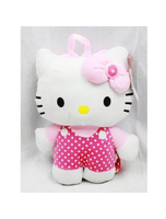 Nwt Sanrio Plush Backpack Pink With Dot